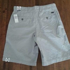 NWT IZOD SEASIDE POPLIN Shorts Size 32